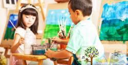 Урок по рисуване за деца