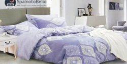 Спален комплект от ранфорс - плик за завивка и две калъфки за възглавници, с възможност за долен чаршаф