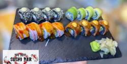 Суши сет Combo Delux с черен ориз - 16 хапки