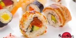 Суши сет за вкъщи - с 20, 38 или 40 хапки