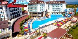 Лятна почивка край Анталия! 7 нощувки на база Ultra All Inclusive в хотел Ramada Resort Side*****, плюс самолетен транспорт