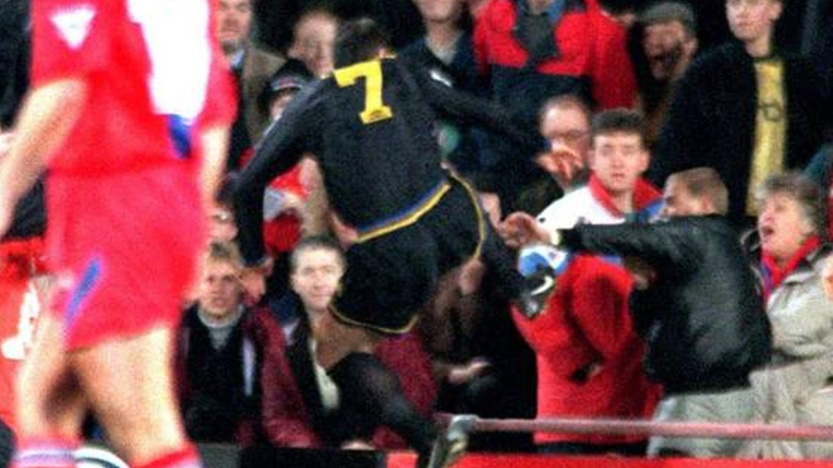 For a generation of united supporters, it has become. Cantona Praises Kung Fu Eurosport