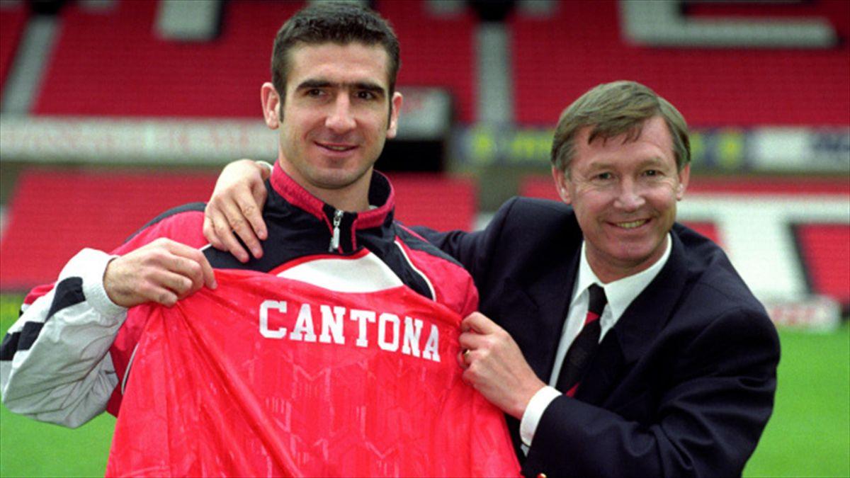 Han avslutade karriären i manchester. Eric Cantona What They Said Eurosport