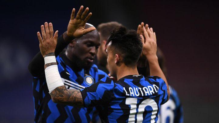 Romelu Lukaku, Lautaro Martinez, Inter-Sassuolo, Getty Images