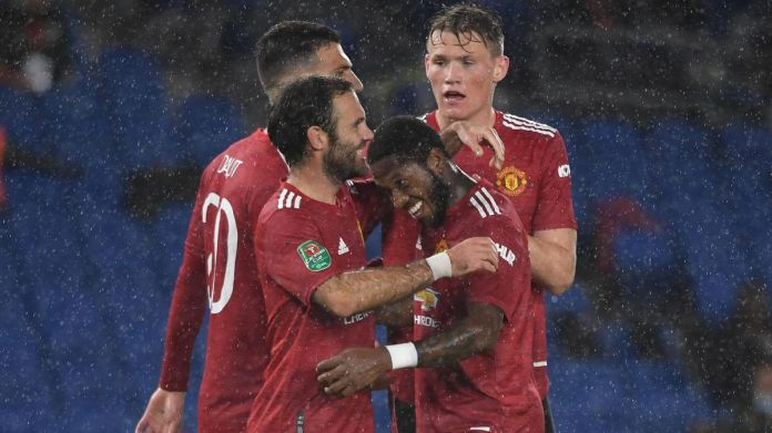 Carabao Cup: Juan Mata and Paul Pogba score as Manchester United beat Brighton - Eurosport