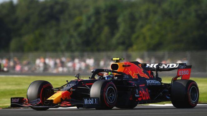 Sergio Pérez (Red Bull) au Grand Prix de Grande Bretagne 2021