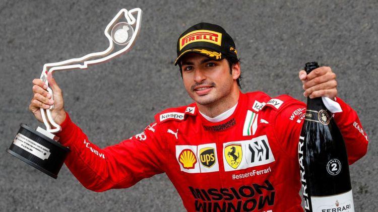 F1, GP Monaco: Carlos Sainz (2°) regala il primo podio del 2021 alla  Ferrari: vince Verstappen ed è 1° nel mondiale! - Eurosport