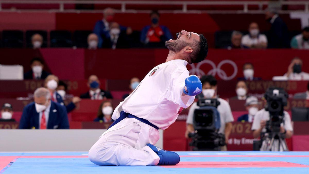 Luigi Busà, Karate, Tokyo 2020, Getty Images