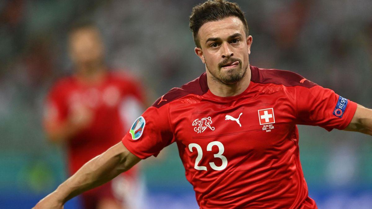 Euro 2020 - Switzerland 3-1 Turkey: Xherdan Shaqiri double helps see off  sorry Turks in Baku - Eurosport