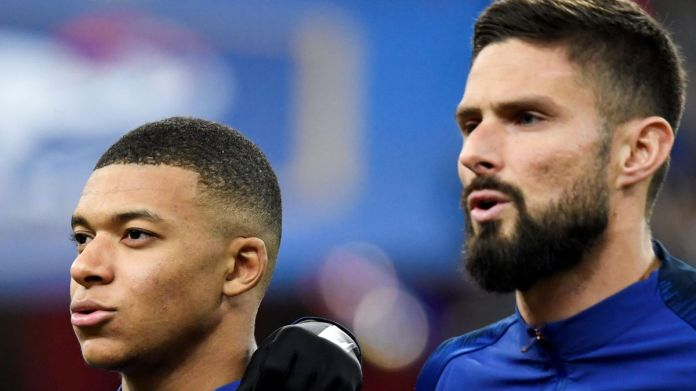 Euro 2020 - Kylian Mbappe: I was 'a little affected' by Olivier Giroud  comments after France friendly - Eurosport