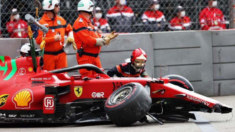 F1, GP Monaco 2021: Charles Leclerc, danni non gravi alla Ferrari e cambio  ok (per ora): pole salva ma si decide domani - Eurosport
