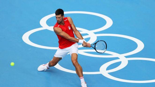Novak Djokovic in Tokio