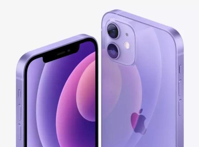 iPhone 12 mor renk seçeneği