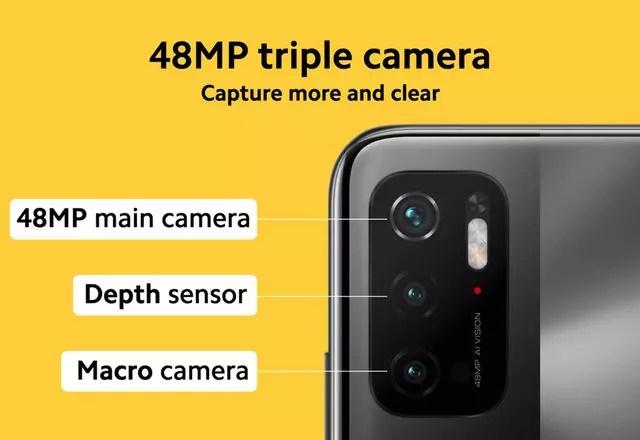 Poco M3 Pro 5G kamera