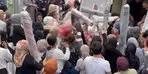 İstanbul'da ucuz halı izdihamı! Polis müdahale etti