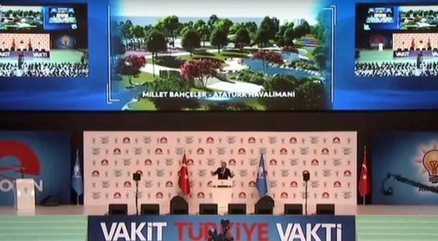 Erdoğan müjdeyi vermişti! İşte Atatürk Havalimanı'nın yeni görüntüsü