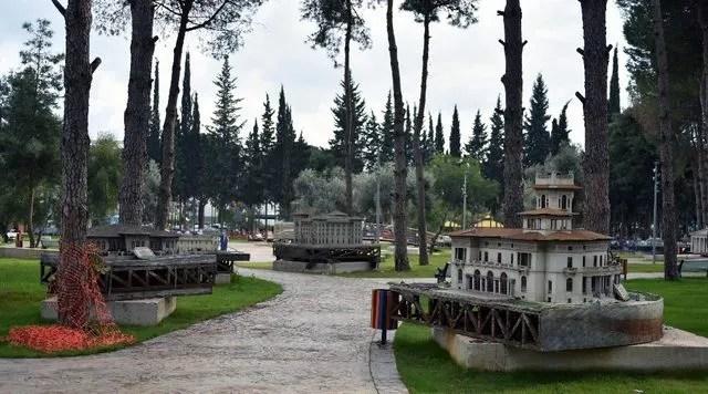 'Minyatür Türkiye Parkı' Dokuma'da