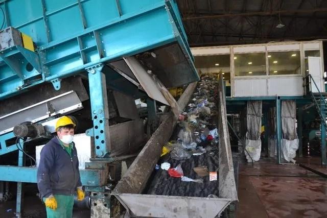 Ordu çöpten elektrik üretiyor