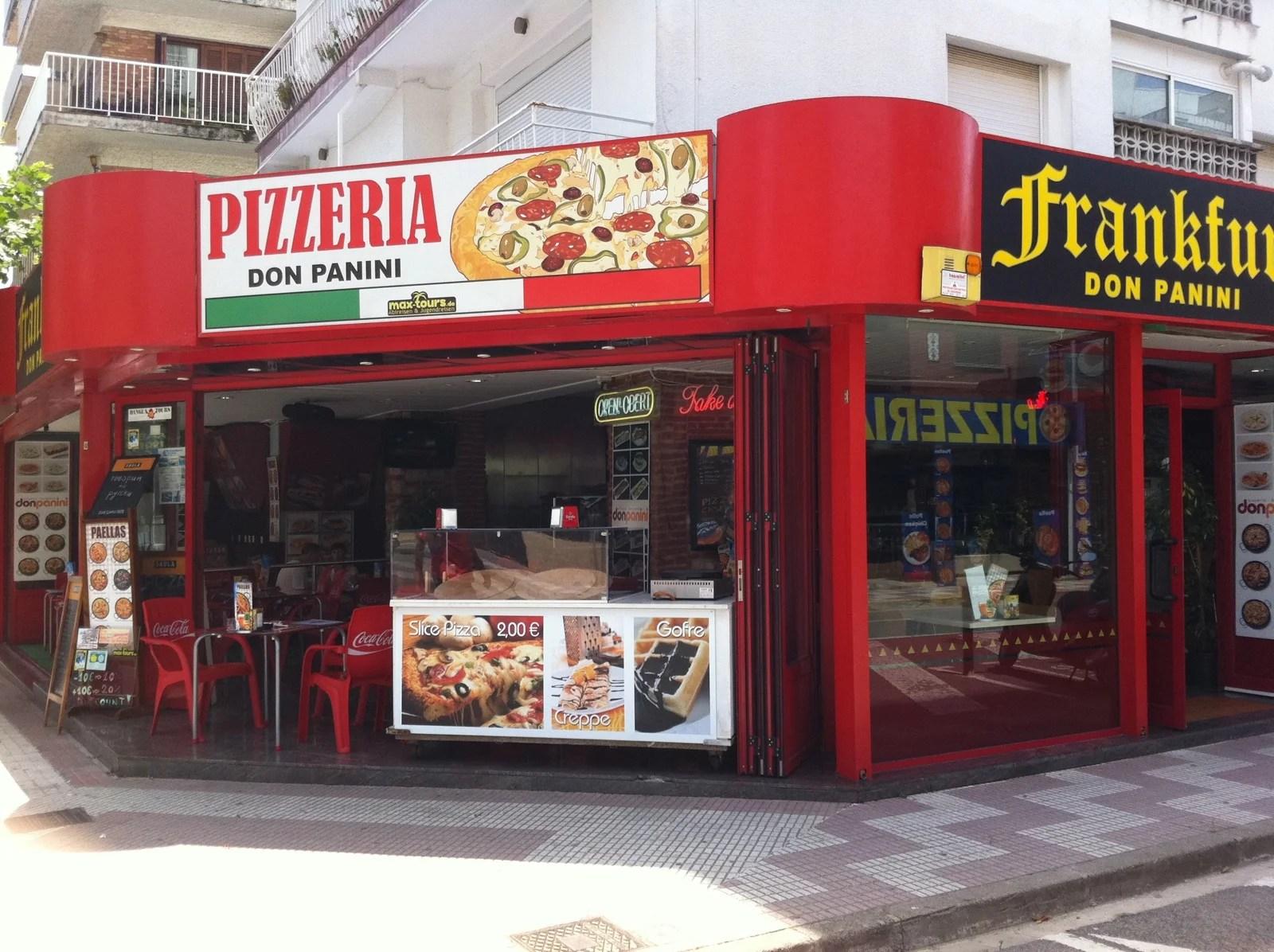 Pizzeria Don Panini en Calella 3 opiniones y 3 fotos