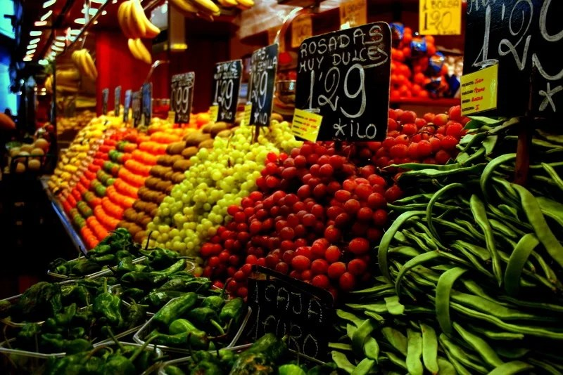 Fotos de Mercado de la Boqueria  Imgenes