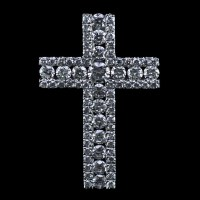 Alisa Unger Designs Diamond Cross Pendant