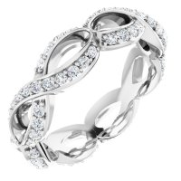 Sculptural-Inspired Engagement Ring 121963:603:P ...