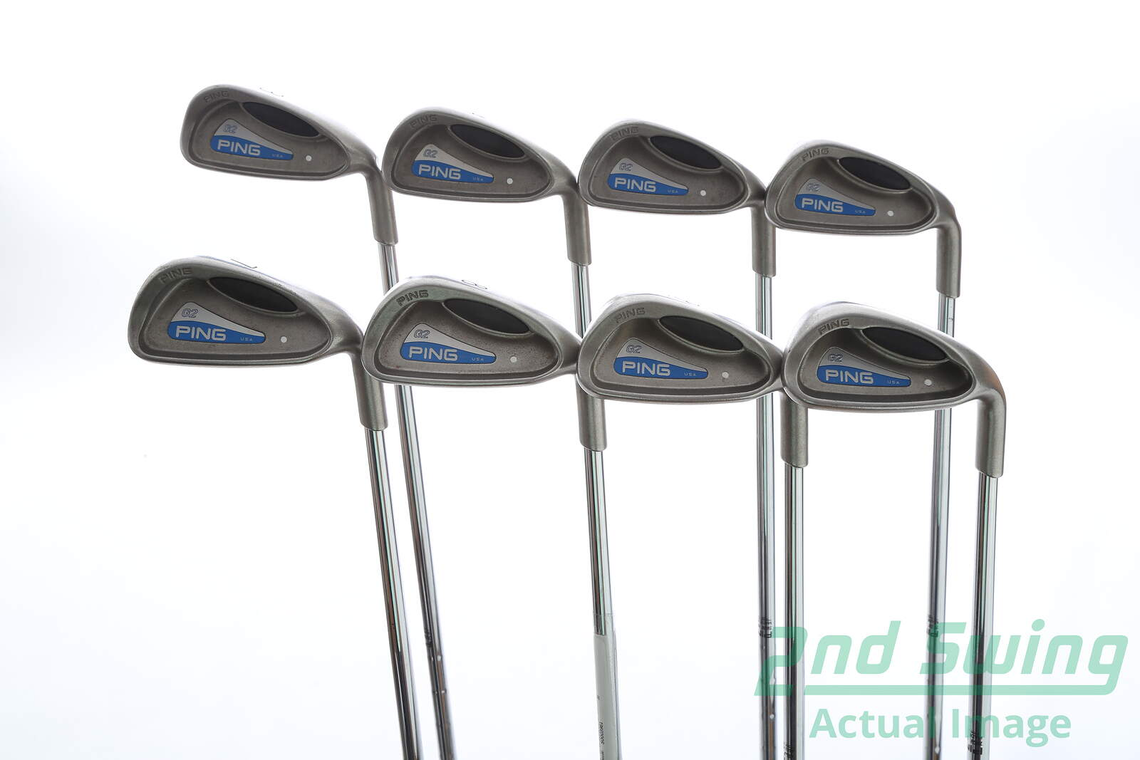 Used Ping G2 Iron Set 3 Pw Ping Cs Lite Steel Stiff Right
