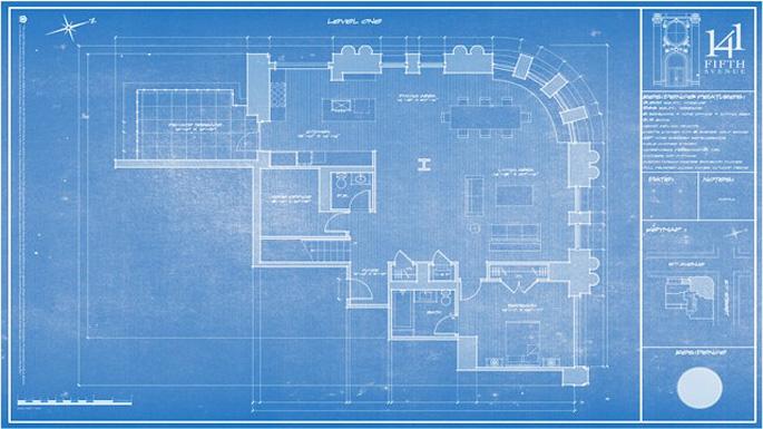 back to blueprints house