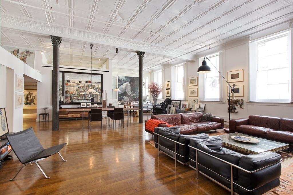 Classic Loft in Sohos Cast Iron Historic District Wants 325 Million  6sqft