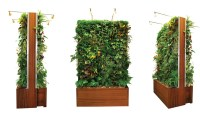 Easily Outfit Your Home in Greenery with Plant Wall Design ...