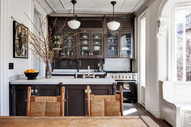 Roman and Williamsdesigned Brooklyn Brownstone is an