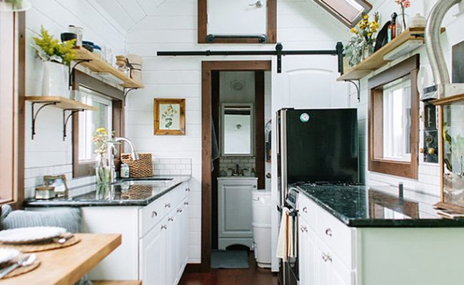 128 Square Foot Tiny Heirloom Home Offers Rustic Elegance