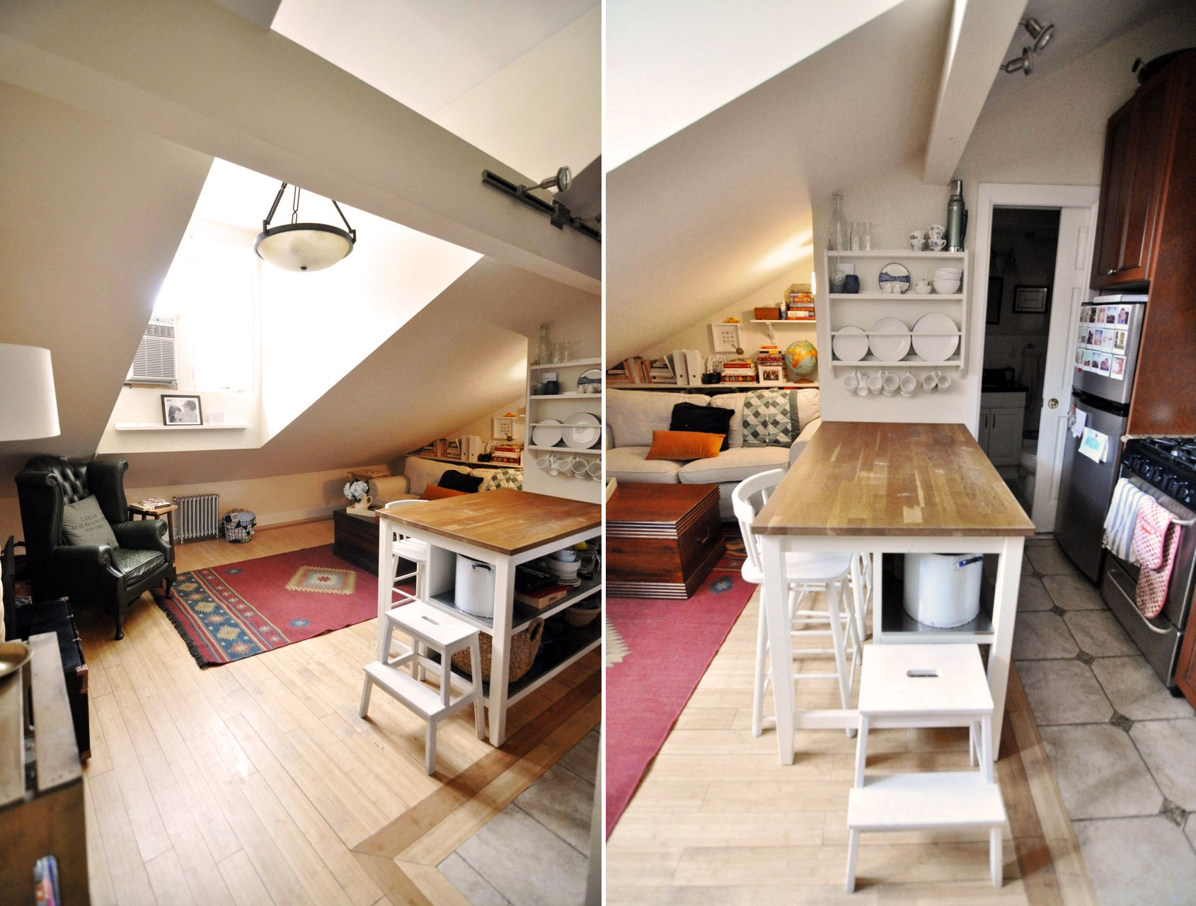 Best Kitchen Gallery: Awesome Attics Inside The Other Penthouses Of New York City 6sqft of Apartments In New York  on rachelxblog.com