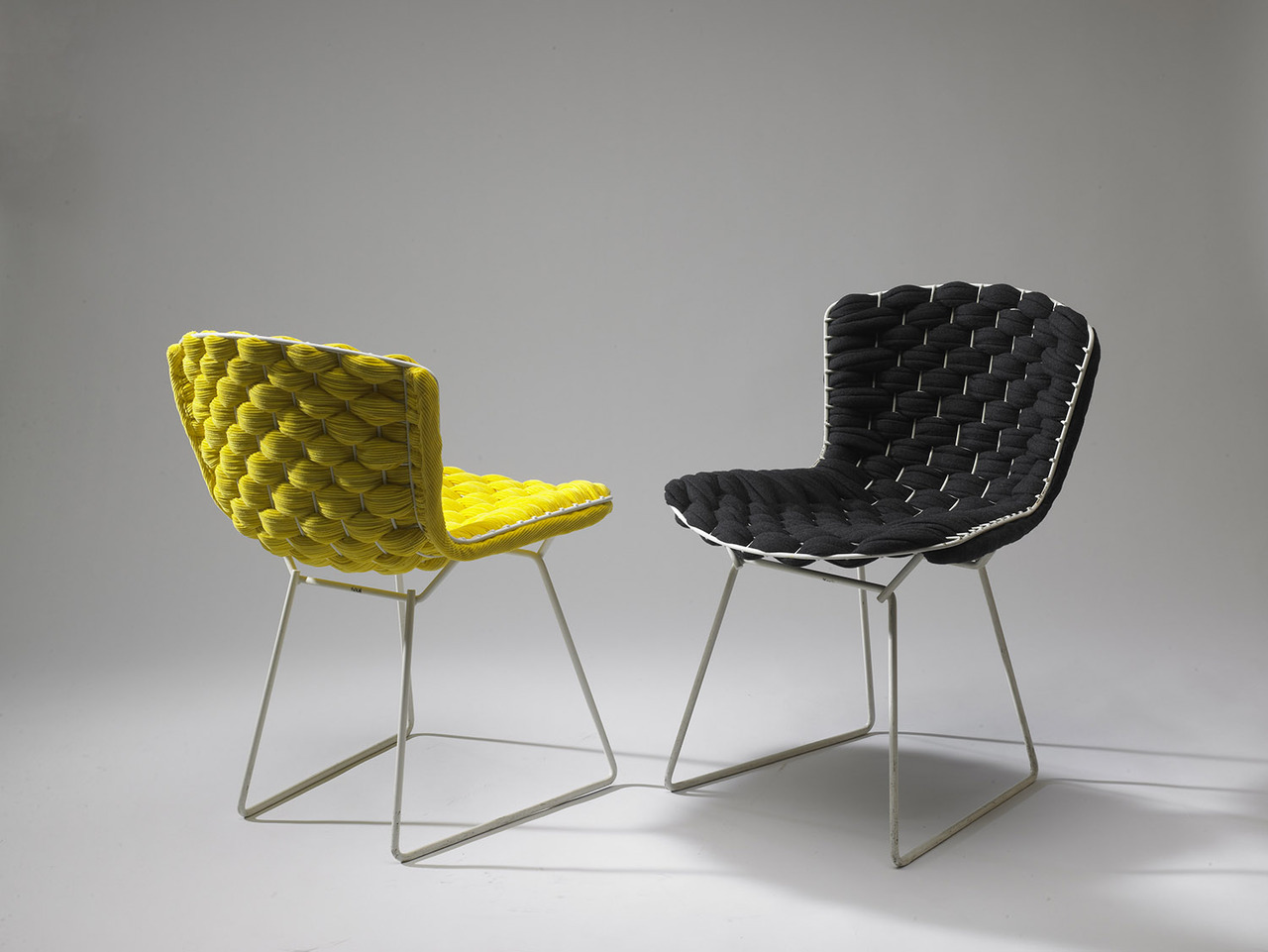 Bertoia Chairs Clément Brazille Reinvents The Iconic Bertoia Chair With