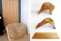 Space-Saving Chair Pops Up From a Single Sheet of Bamboo ...