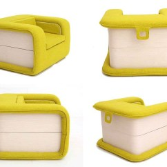 Chair That Opens Into A Bed Wedding Covers Second Hand Designer Elena Sidorova S Flop Armchair Like Book