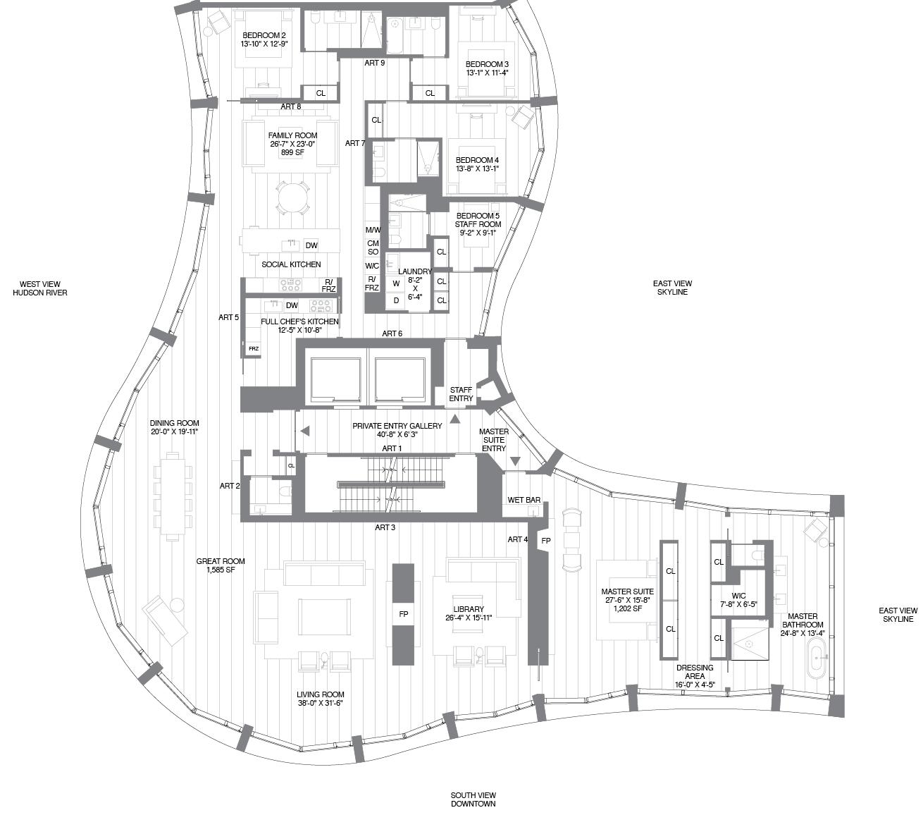 Amoeba Like Floorplans For Herzog Amp De Meuron S 160 Leroy
