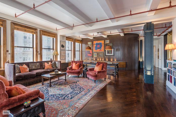 Modern Massive Loft in Prewar Flatiron Building Asks 7895 Million  6sqft