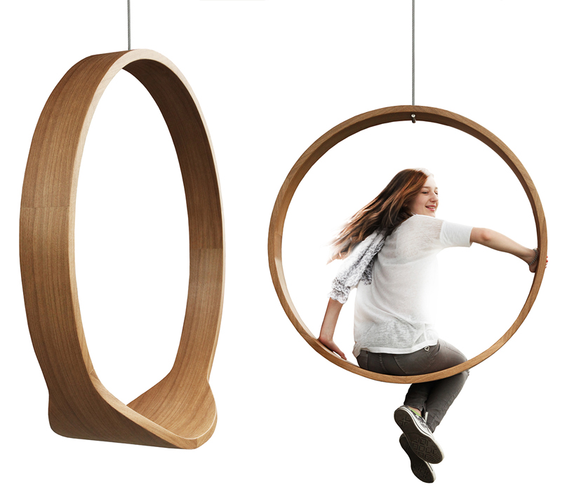 swing chair pics baby activity circle swinging brings your childhood playground inside the office