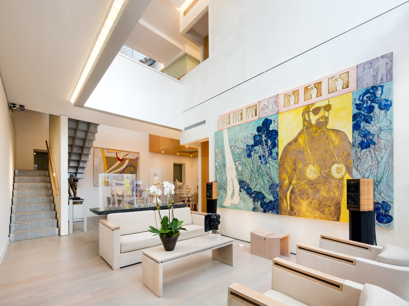 An Art Collector's $14.5M West Village Carriage House Is
