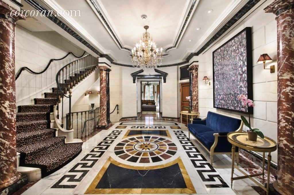 Rent the Opulent Upper East Side Mansion Once Home to Versace for 120000Month  6sqft