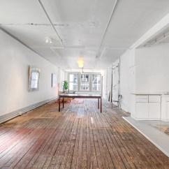 How To Design Long Narrow Living Room Cottage Chic Former Soho Loft Of Artist Bill Alpert Hits The Market For ...