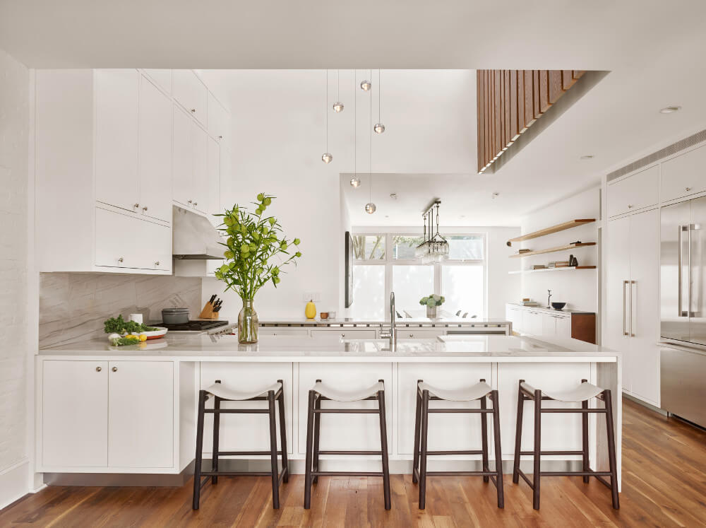 Greenpoint row house features twostory kitchen and bonedry wine cellar  6sqft