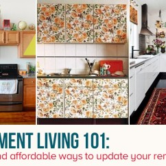 Kitchen Rental Unique Decor 10 Easy Ways To Give Your A Makeover 6sqft View Photo In Gallery