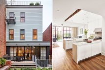 Greenpoint Row House Features Two-story Kitchen And Bone