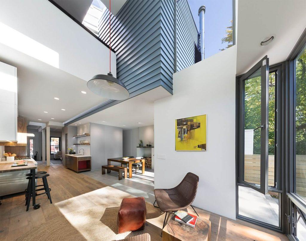 Noroof Architects BedStuy porcHouse reimagines the