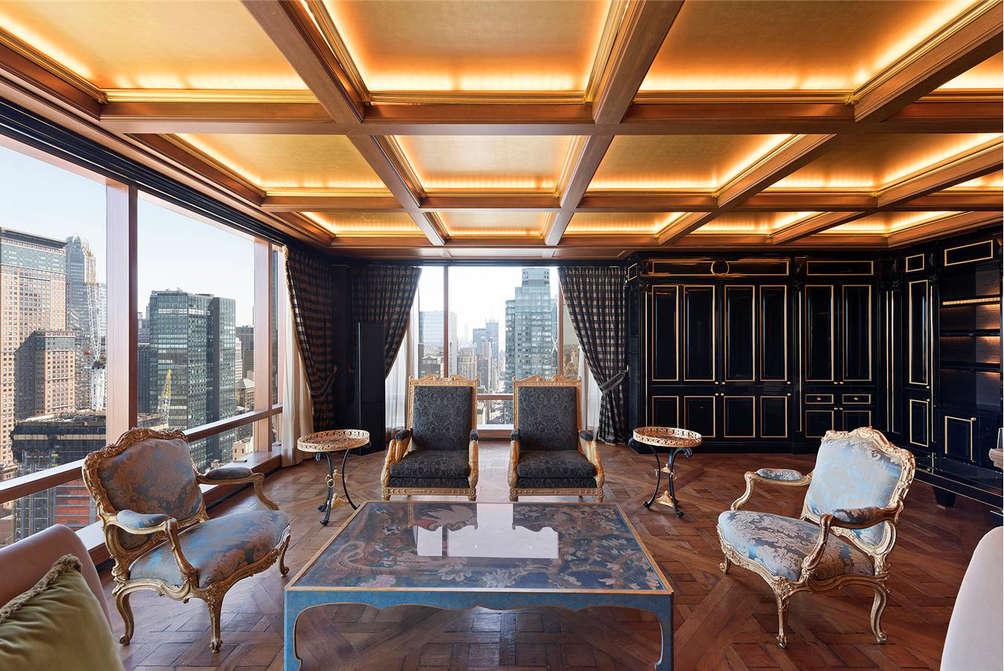 A Top Floor Apartment At Trump International Awash In
