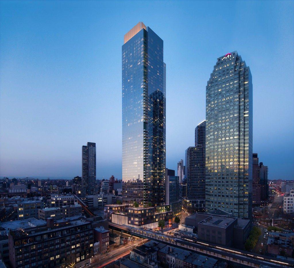 New renderings released of Long Island Citys Skyline Tower Queens soontobetallest  6sqft