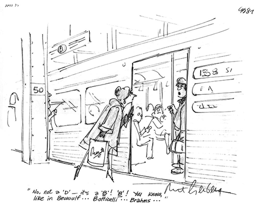 NYHS exhibit celebrates cartoonist Mort Gerberg's witty