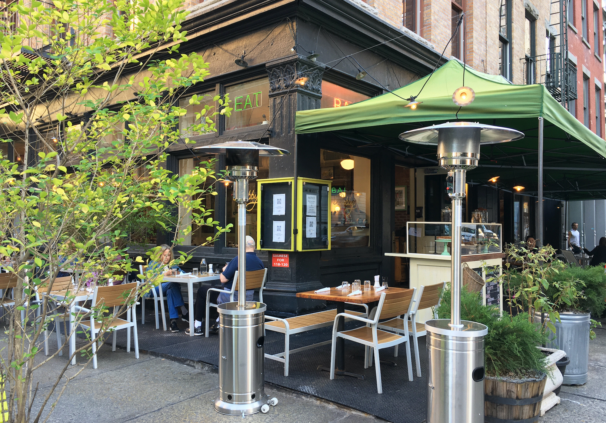 85 nyc restaurants with heaters for